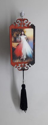 Adorno com Imagem 3D - Jesus Misericordioso -