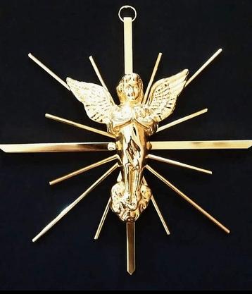 Anjo de Metal Raiado -