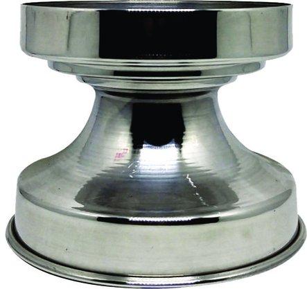 Base de Alumínio Repuchado para Donzela - 13 cm de Diâmetro -