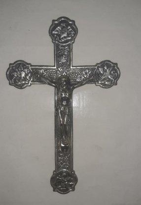 Crucifixo de Parede c/ os 4 Evangelistas -