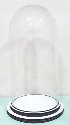 Cúpula de Vidro - 18,3 x 37 cm - Transparente -