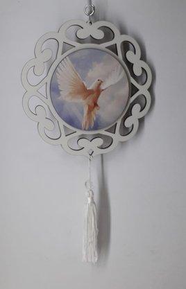 Mandala com Imagem Fotográfica - Divino Espírito Santo -