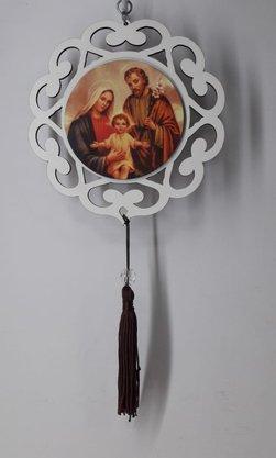 Mandala com Imagem Fotográfica - Sagrada Família -