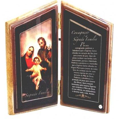 Oração de Mesa Sagrada Família -