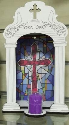 Oratório Grande com Vela -