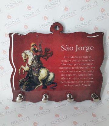 Porta Chaves 4 Pinos Resinado - São Jorge -