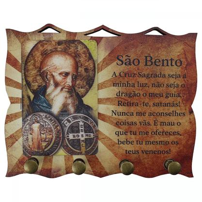 Porta Chaves com Imagem 3D - São Bento -