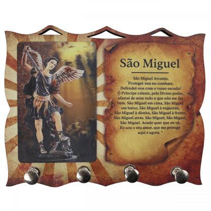 Porta Chaves com Imagem 3D - São Miguel Arcanjo -