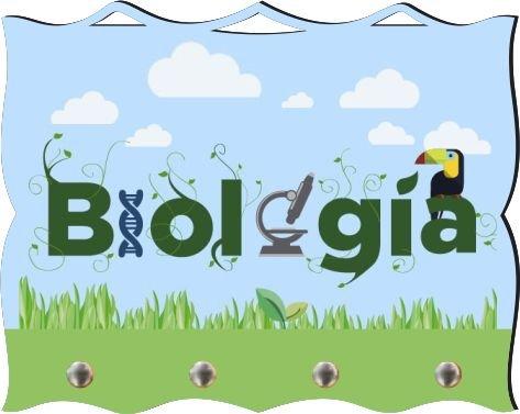 Porta Chaves com Imagem Fotográfica - Biologia -