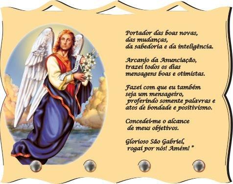 Porta Chaves com Imagem Fotográfica - São Gabriel -