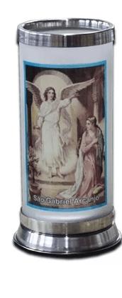 Porta Vela  com Imagem Colorida - São Gabriel -