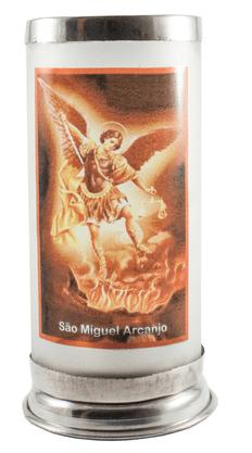 Porta Vela com Imagem Colorida - São Miguel Arcanjo -