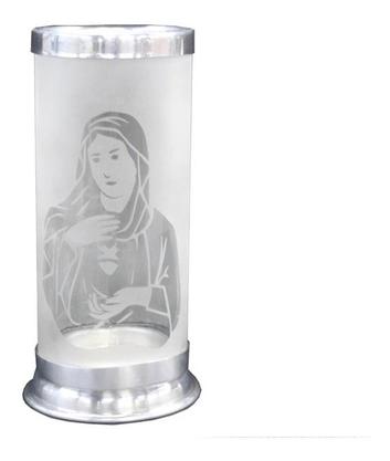 Porta Vela - Imaculado Coração de Maria - Vazado -