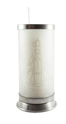 Porta Vela Fosco - Nossa Senhora Aparecida - Vazado -