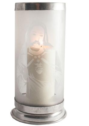 Porta Vela  - Sagrado Coração de Jesus - Vazado -