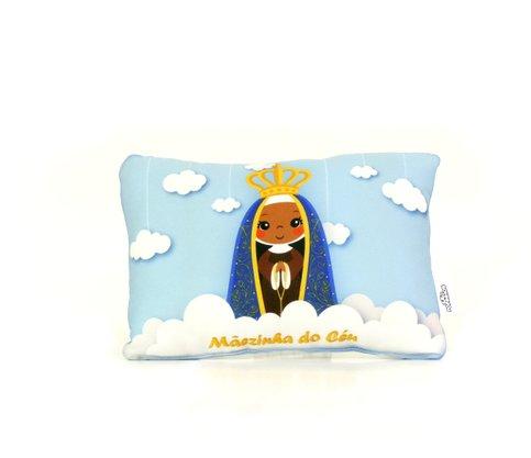 Travesseiro Nossa Senhora Aparecida - Aromatizado  Chá de Camomila -