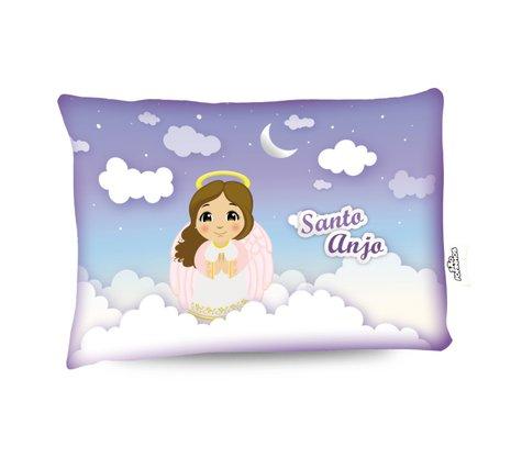 Travesseiro Santo Anjo Menina - Aromatizado Chá de Camomila -