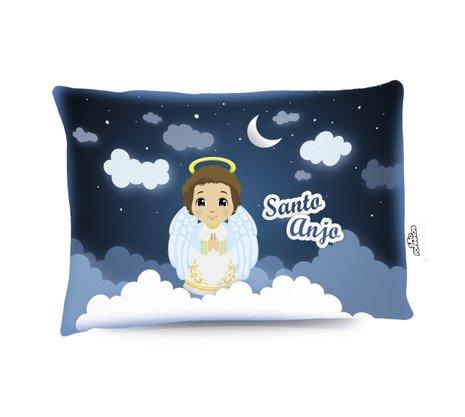 Travesseiro Santo Anjo Menino - Aromatizado Chá de Camomila -