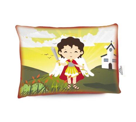 Travesseiro São Miguel Arcanjo - Aromatizado Chá de Camomila -