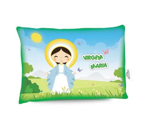 Travesseiro Virgem Maria - Aromatizado Chá de Camomila -