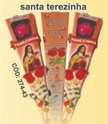 Vela Botão de Rosa Perfumada - Santa Terezinha -