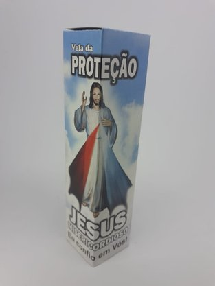 Vela da Proteção - Jesus Misericordioso -