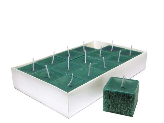 Vela Decorativa Perfumada - Quadrada - Hortelã