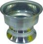 Base de Alumínio Repuchado para Vela - de 5 cm -