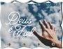 Porta Chaves com Imagem Fotográfica - Deus é Fiel - Mão -