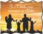 Porta Chaves com Imagem Fotográfica - Eu e minha Casa Serviremos ao Senhor -