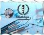 Porta Chaves com Imagem Fotográfica - Odontologia -
