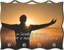 Porta Chaves com Imagem Fotográfica - O Senhor é Meu Pastor -