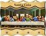 Porta Chaves com Imagem Fotográfica - Santa Ceia -