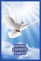 Porta Vela  com Imagem Colorida - Divino Espírito Santo -