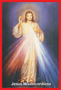 Porta Vela Fosco com Imagem Colorida - Jesus Misericordioso -