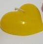 Vela Coração - Cartela com 1 - Médio -