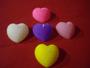 Vela Coração - Cartela com 4 -