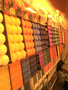 Vela Decorativa Perfumada - Quadrada - Abacaxi -