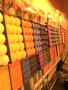 Vela Decorativa Perfumada - Quadrada - Pêssego -