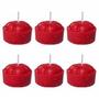 Velas Lamparinas Cartelas com 3 velas -
