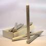 Velas Texturizadas para Castiçais - 2,2 x 27 cm -